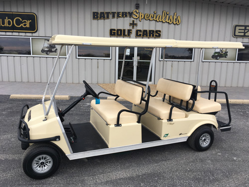 2018 CLUB CAR VILLAGER 6 ELECTRIC