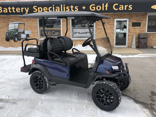2018 CLUB CAR LIMITED EDITION MATTE GREEN ONWARD