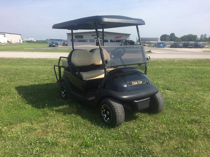 2012 Club Car Precedent ELECTRIC Golf Cart Classic Black $4995