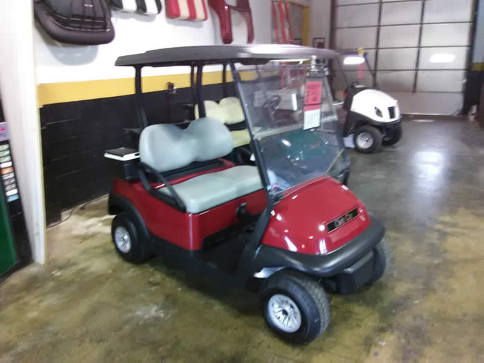 2017 SANGRIA Club Car Precedent Gas Golf Car $5995