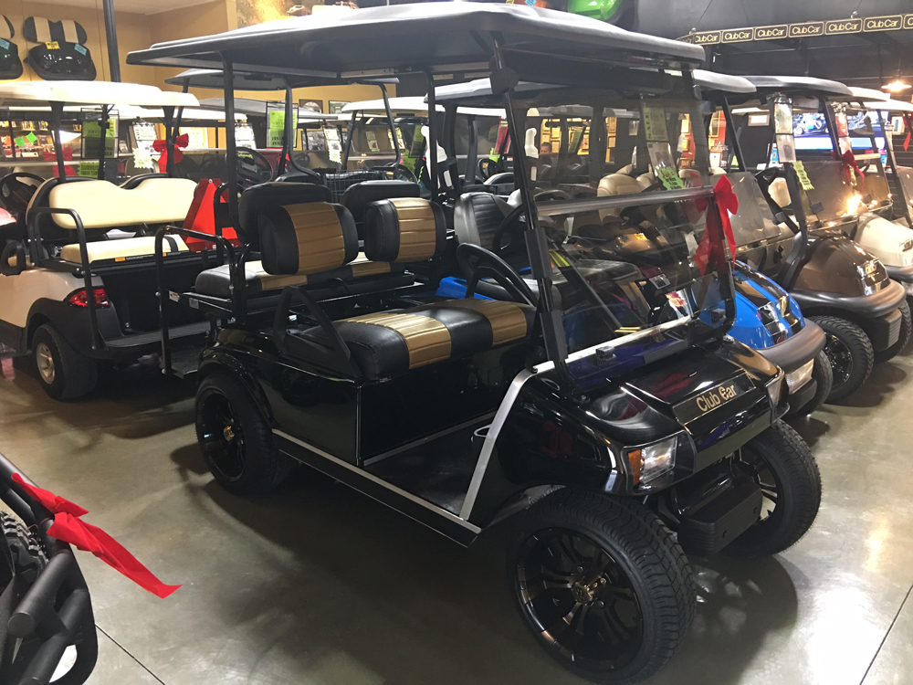 2003 Club Car DS Electric Golf Cart Black for sale $5950