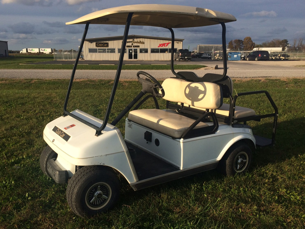 2006 Club Car DS Electric Golf Cart Beige for sale $3495
