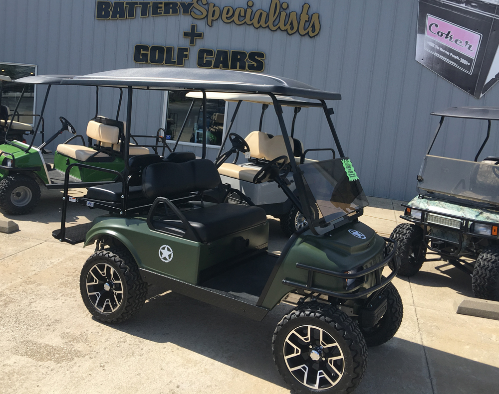 2008 Club Car DS Electric Golf Cart Military Tribute for sale $6995