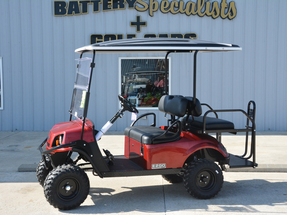 2018 RED EZGO Electric Golf Cart $9666