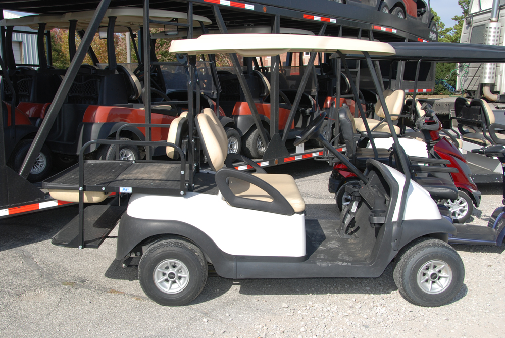 Four Passenger with flip seat Golf Cars