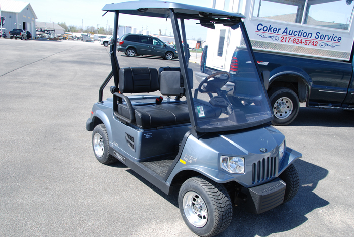 2013 Club Car Villager Grey Electric Low Speed Vehicle $6595
