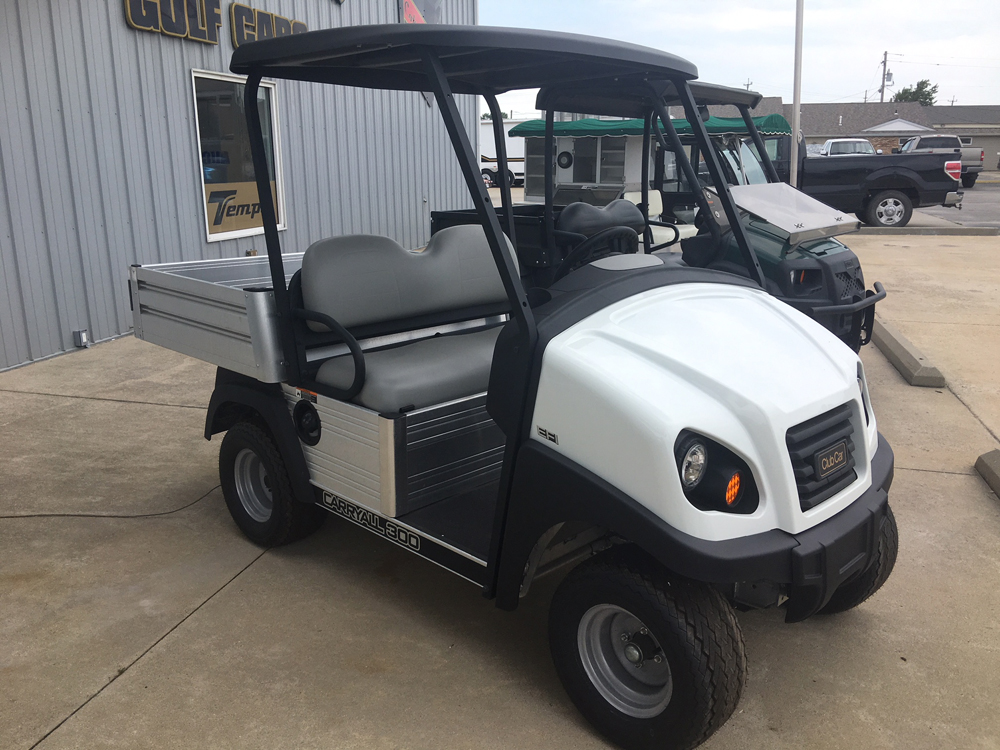 NEW 2017 Club Car CARRYALL 500 ELECTRIC UTILITY Cart WHITE $8495
