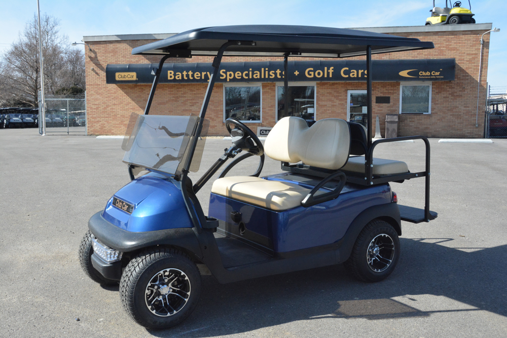 Red Electric Golf Cart 2010 Club Car Precedent for sale $
