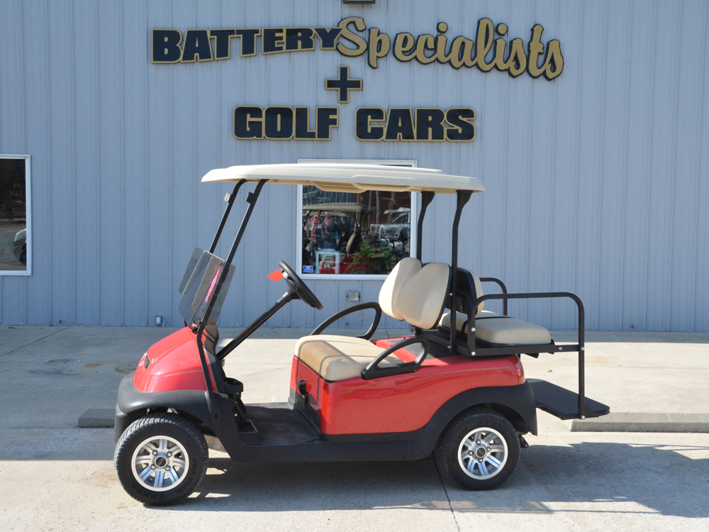 Red Electric Golf Cart 2013 Club Car Precedent for sale $4695