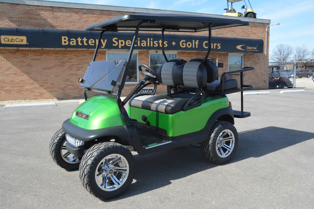 SYNERGY GREEN Electric Golf Cart 2013 Club Car Precedent for sale $