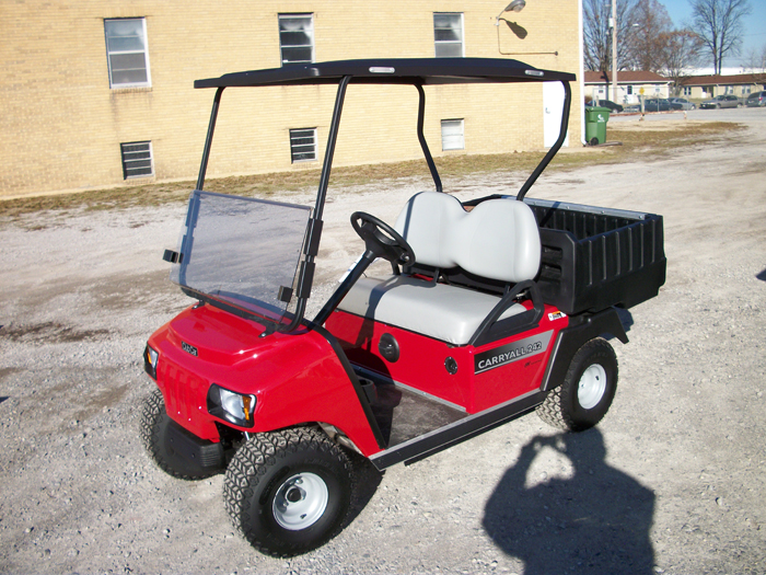 Remanufactured 2013 Club Car Custom Electric DS Golf Cart Red $5995