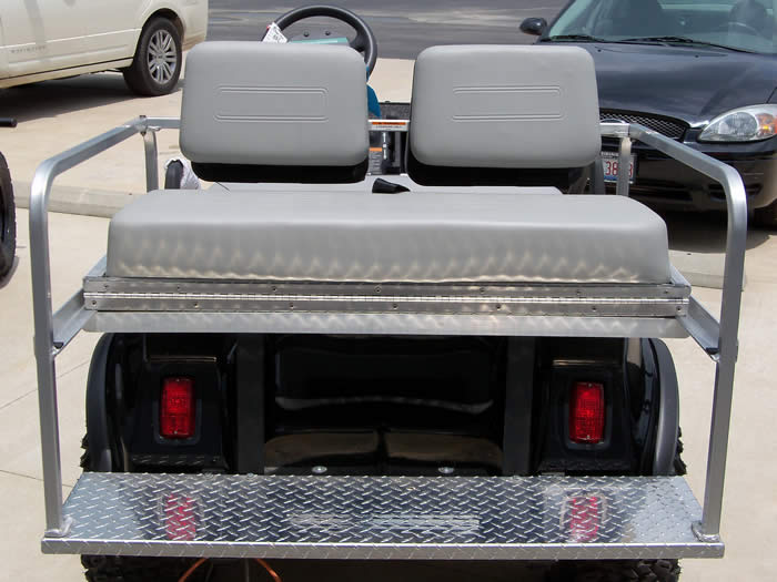 Multi Passenger Conversions for Golf Cars Golf Carts, 3 in 1, Rear Facing Seats, Flip Fold Seats