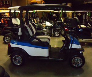 Dream cars | Battery Specialists Plus Golf Cars, Custom Golf Carts on silver golf carts, black painted furniture, black painted doors, black painted wheels, black painted cabinets, black painted trucks, navy golf carts, two tone golf carts, brown golf carts, chrome golf carts,