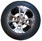 Custom Wheels, Tires, Hub Caps, Wheel Covers for Golf Cars and Golf Carts